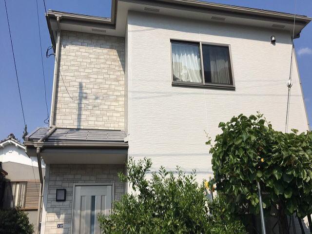 【施工実績393】外壁塗装・屋根塗装:埼玉県上尾市