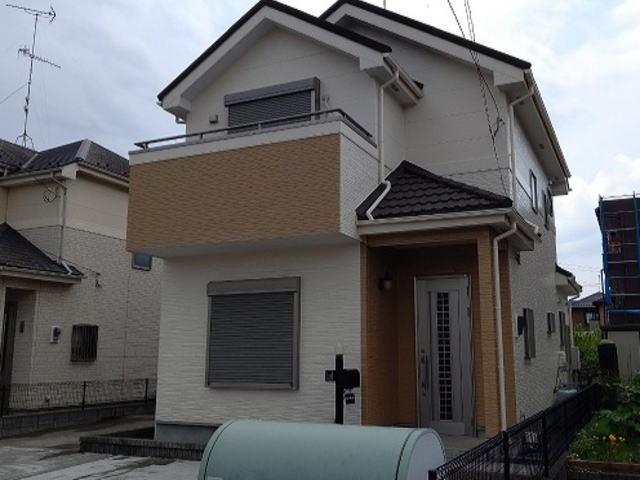 【施工実績395】外壁塗装・屋根重ね葺き:埼玉県熊谷市