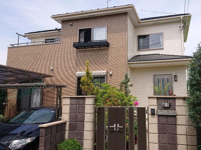 【施工実績398】外壁塗装・屋根塗装:埼玉県上尾市