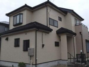 【施工実績399】外壁塗装・屋根重ね葺き:埼玉県久喜市
