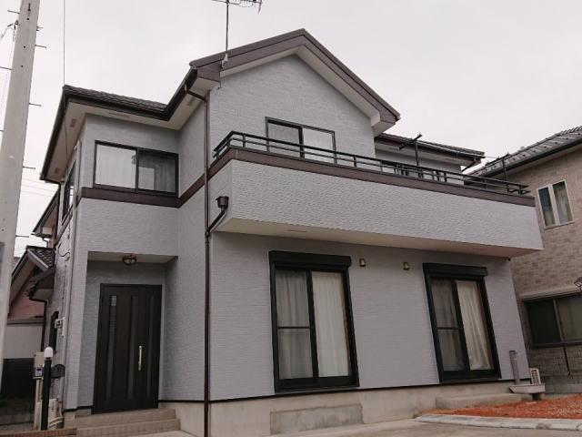 【施工実績404】外壁塗装・屋根重ね葺き:群馬県高崎市