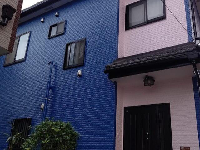 【施工実績408】外壁塗装・屋根重ね葺き:埼玉県八潮市