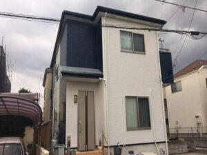 【施工実績414】外壁塗装・屋根塗装:埼玉県狭山市