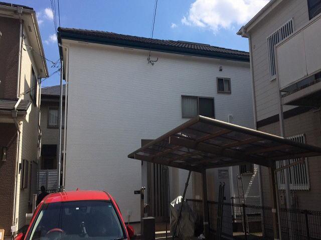 【施工実績416】外壁塗装・屋根重ね葺き:埼玉県川口市