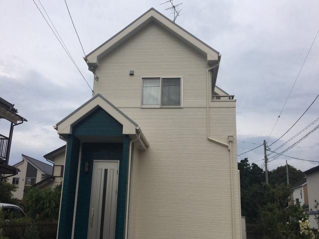 【施工実績418】外壁塗装・屋根塗装:群馬県館林市