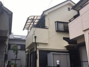 【施工実績424】外壁塗装・屋根重ね葺き:埼玉県さいたま市北区