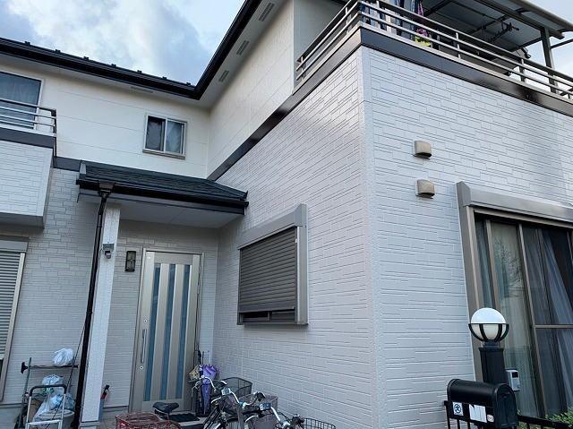 【施工実績425】外壁塗装・屋根重ね葺き:埼玉県鴻巣市