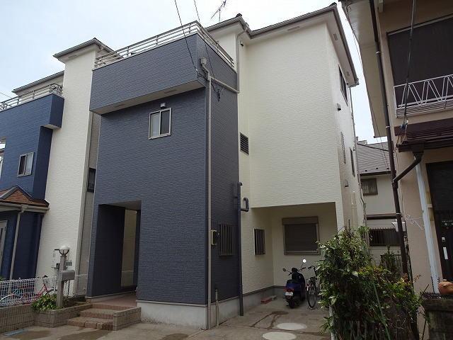 【施工実績428】外壁塗装・屋根重ね葺き:埼玉県さいたま市岩槻区