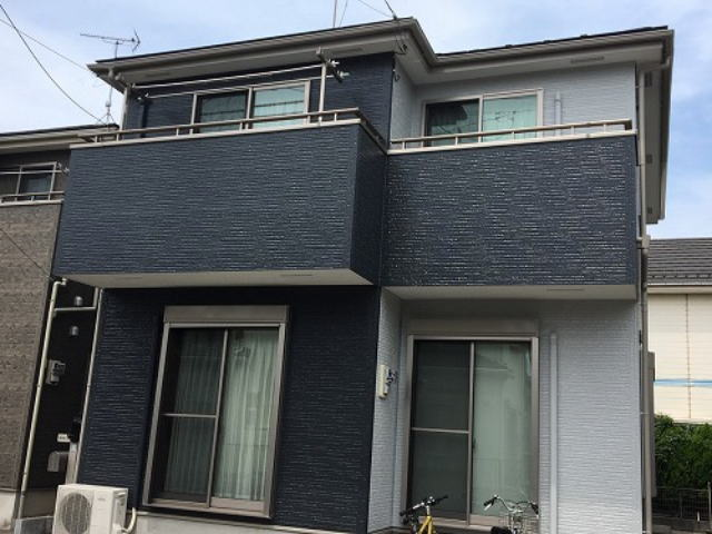 【施工実績430】外壁塗装・屋根塗装:埼玉県北葛飾郡松伏町
