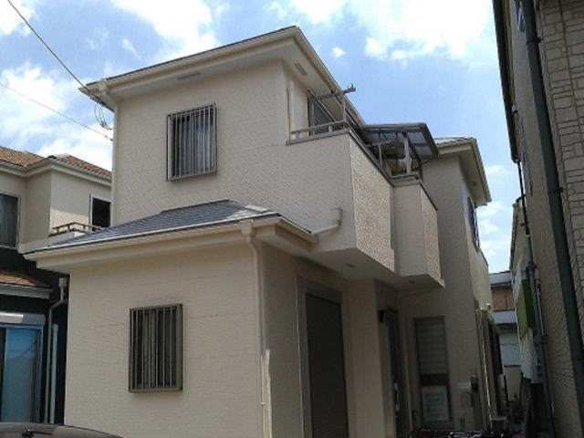 【施工実績434】外壁塗装・屋根塗装:埼玉県草加市