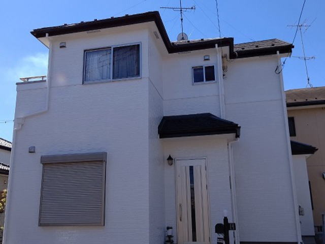 【施工実績441】外壁塗装・屋根重ね葺き:埼玉県入間郡毛呂山町