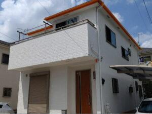 【施工実績442】外壁塗装・屋根塗装:埼玉県川口市