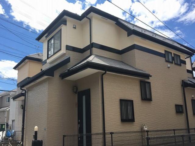 【施工実績447】外壁塗装・屋根塗装:埼玉県新座市