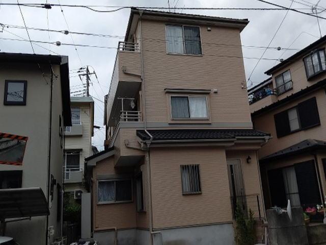 【施工実績448】外壁塗装・屋根重ね葺き:埼玉県さいたま市浦和区