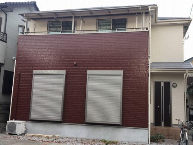 【施工実績465】外壁塗装・屋根塗装:埼玉県上尾市