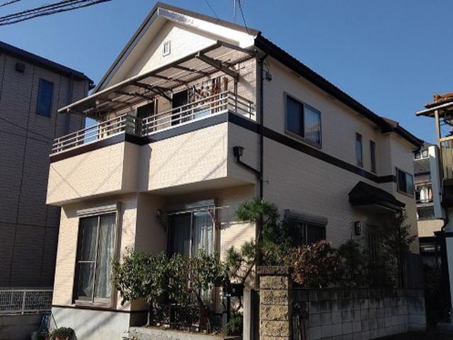 【施工実績472】外壁塗装・屋根重ね葺き:埼玉県さいたま市南区