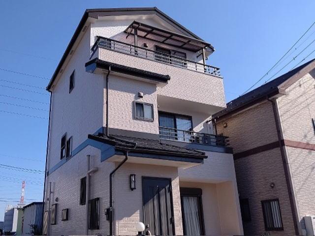 【施工実績477】外壁塗装・屋根重ね葺き:埼玉県八潮市
