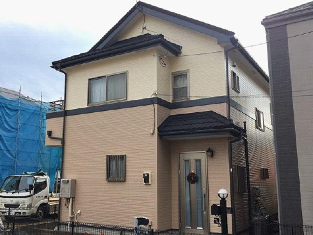 【施工実績481】外壁塗装・屋根重ね葺き:埼玉県さいたま市見沼区