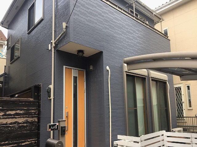 【施工実績485】外壁塗装・屋根塗装:埼玉県吉川市