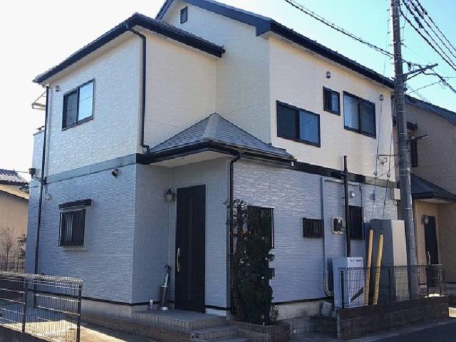 【施工実績487】外壁塗装・屋根塗装:埼玉県草加市
