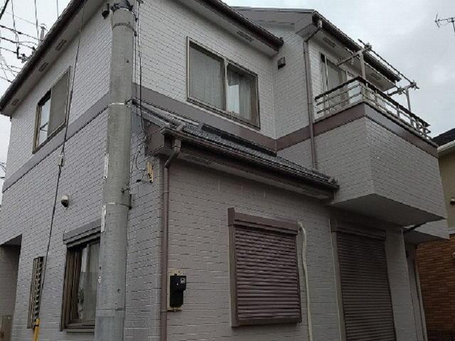 【施工実績488】外壁塗装・屋根塗装:埼玉県越谷市
