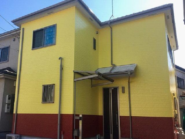 【施工実績489】外壁塗装・屋根塗装:埼玉県さいたま市西区