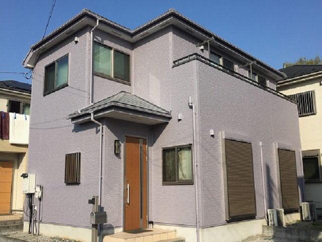 【施工実績491】外壁塗装・屋根塗装:埼玉県上尾市