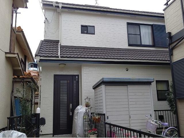 【施工実績493】外壁塗装・屋根重ね葺き:埼玉県鶴ヶ島市