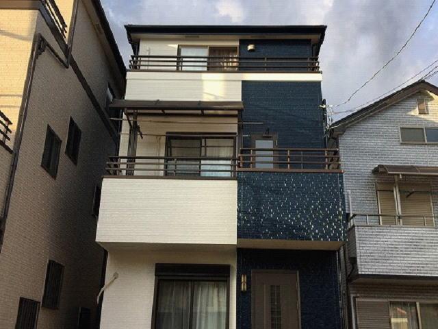 【施工実績494】外壁塗装・屋根塗装:埼玉県上尾市