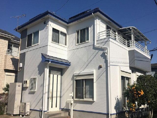 【施工実績496】外壁塗装・屋根塗装:群馬県前橋市