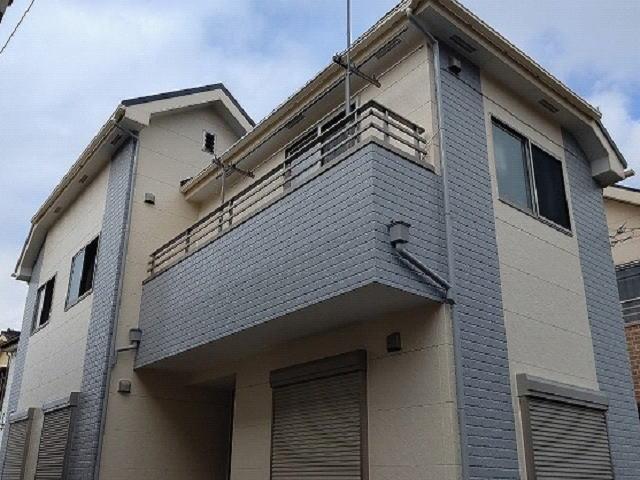 【施工実績497】外壁塗装・屋根重ね葺き:埼玉県ふじみ野市