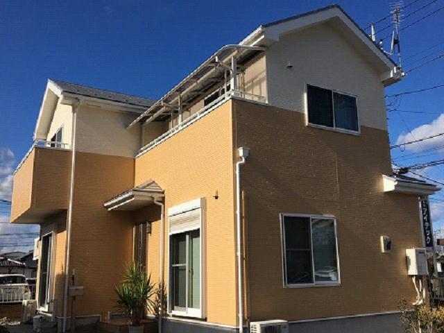 【施工実績499】外壁塗装・屋根塗装:群馬県前橋市