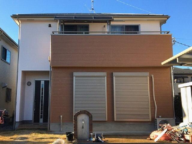 【施工実績505】外壁塗装・屋根塗装:埼玉県久喜市