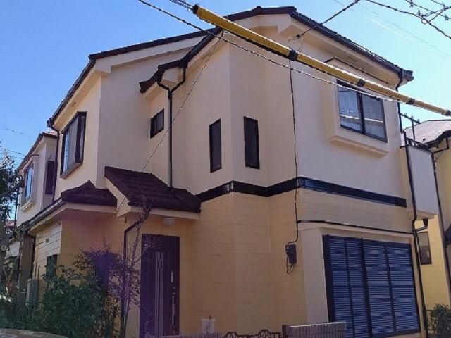 【施工実績510】外壁塗装・屋根重ね葺き:埼玉県坂戸市