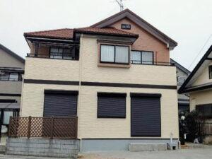 【施工実績513】外壁塗装・屋根重ね葺き:埼玉県春日部市