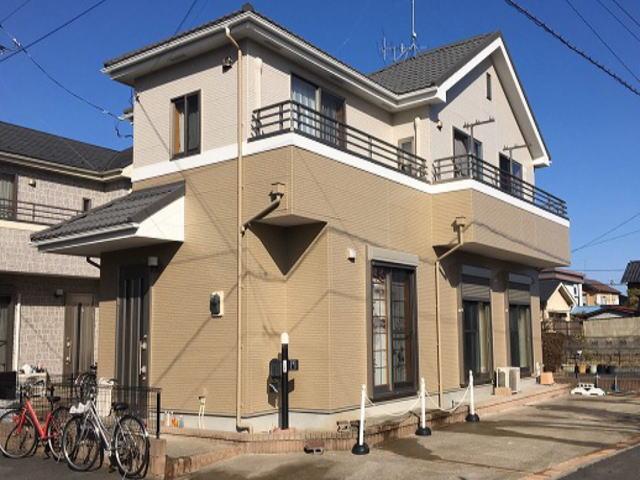 【施工実績517】外壁塗装・屋根重ね葺き:埼玉県久喜市