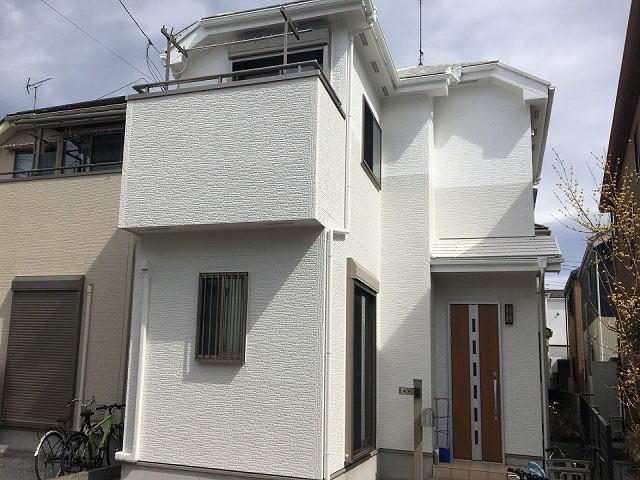【施工実績518】外壁塗装・屋根塗装:埼玉県上尾市