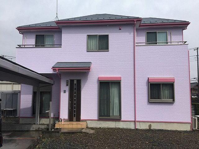 【施工実績525】外壁塗装・屋根塗装:埼玉県加須市