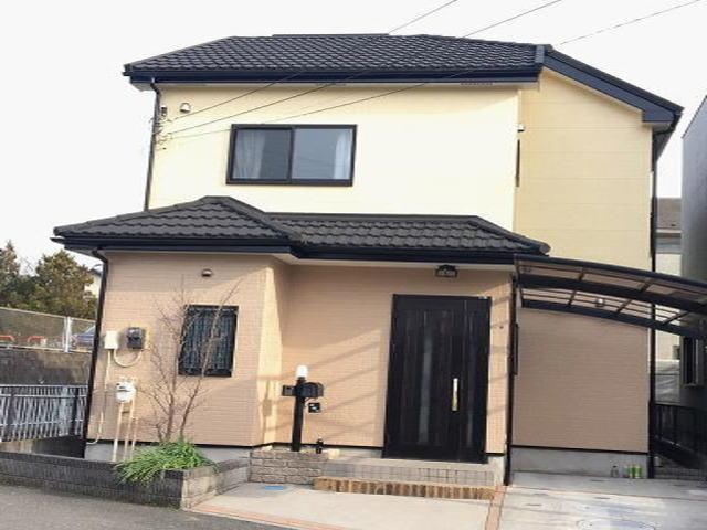 【施工実績531】外壁塗装・屋根重ね葺き:埼玉県春日部市