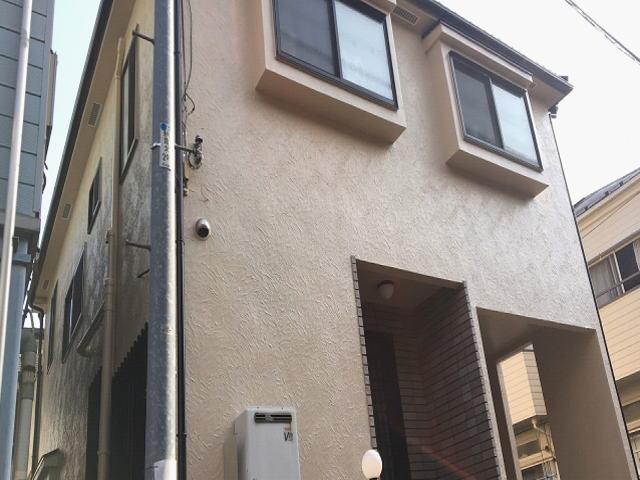 【施工実績533】外壁塗装・屋根重ね葺き:埼玉県新座市