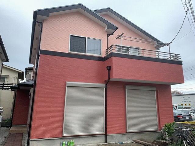 【施工実績534】外壁塗装・屋根塗装:埼玉県川越市