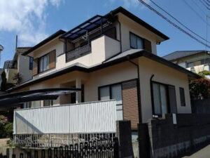 【施工実績535】外壁塗装・屋根塗装:千葉県柏市