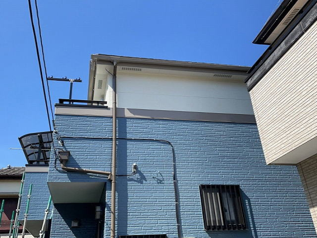 【施工実績542】外壁塗装・屋根塗装:埼玉県新座市