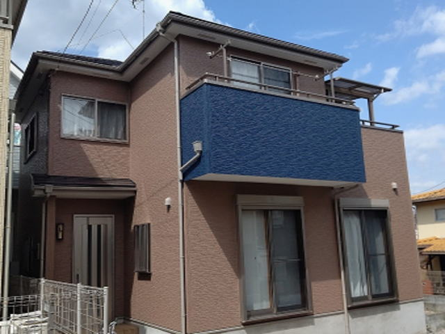 【施工実績543】外壁塗装・屋根塗装:埼玉県さいたま市浦和区