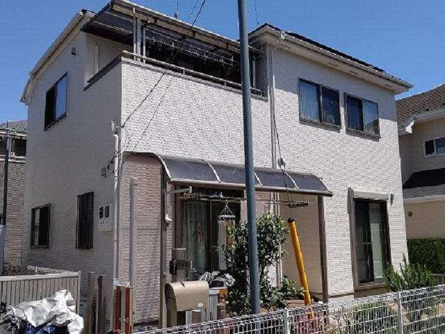 【施工実績544】外壁塗装・屋根塗装:埼玉県上尾市