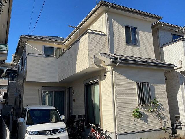 【施工実績545】外壁塗装・屋根塗装:埼玉県新座市
