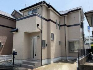 【施工実績547】外壁塗装・屋根塗装:埼玉県ふじみ野市