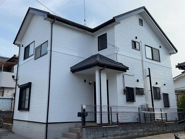【施工実績548】外壁塗装・屋根重ね葺き:埼玉県行田市
