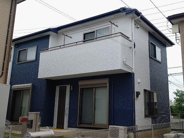 【施工実績549】外壁塗装・屋根塗装:埼玉県坂戸市