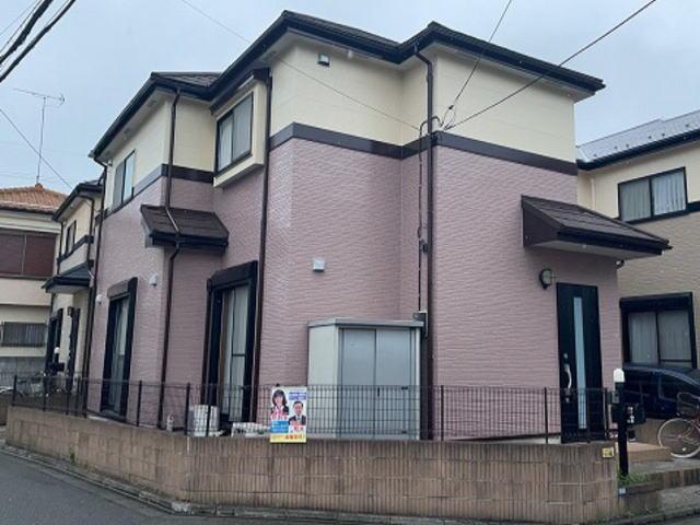 【施工実績550】外壁塗装・屋根重ね葺き:埼玉県新座市